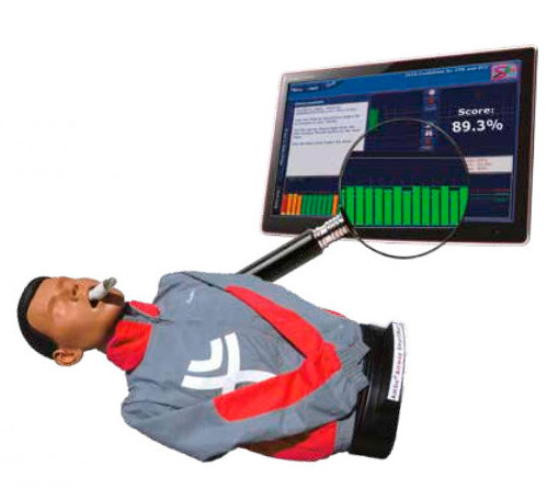 SmartMan ALS Airway HLW PRO Torso mit Software